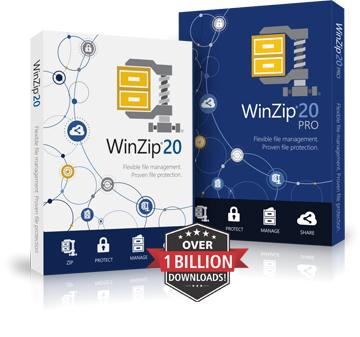 WinZip Boxshots
